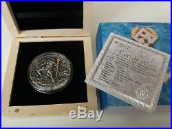 POSEIDON God Of the Sea Gods 2 Oz Silver Coin 2$ Niue 2018 ultra high relief