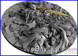 QIN SHI HUANG Legends The Great Chinese Emperors 2 Oz Silver Coin 5$ Niue 2020