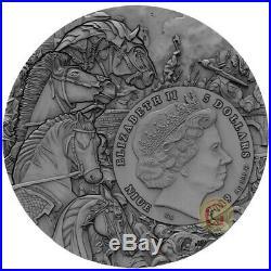 RED HORSE Four Horsemen Of The Apocalypse 2 Oz Silver Coin 5$ Niue 2019 PRESALE