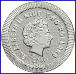 Roll of 20 2018 Niue 1 oz Silver Athenian Owl $2 Coins GEM BU SKU52483