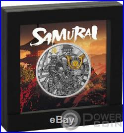 SAMURAI Warriors 2 Oz Silver Coin 5$ Niue 2019
