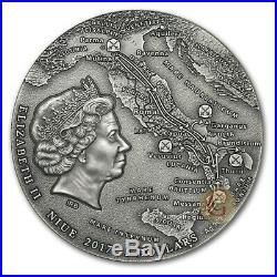 SPARTACUS Slave Revolt Great Commanders 2 Oz Silver Coin 5$ NIUE