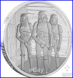 STAR WARS CLASSIC STORMTROOPER 2019 Niue 1oz proof silver coin
