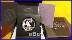 STAR WARS Niue Boba Fett 1 oz Silver Coin Silber Münze