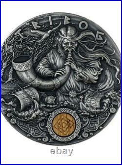 STRIBOG Slavic Gods 2 Oz Silver Coin 2$ Niue 2020