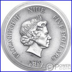 SUN WUKONG Monkey King Chinese Gods Mythology 2 Oz Silver Coin 5$ Niue 2019