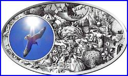 SUPERBIA PRIDE Pieter Bruegel Seven Vices Niue Island 2013 Silver Coin