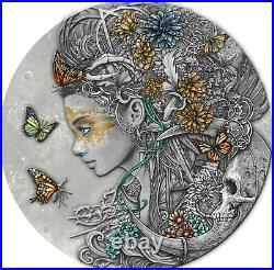 Silbermünze 2020 Niue 2$ ANASTASIYA Dark Beauties 50g Silver Coin 999 Le Grand
