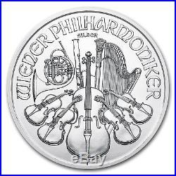 Special Price! Austria 1 oz Silver Philharmonic (Random Year) Lot of 20