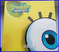 Spongebob Squarepants Cartoon 4 X 1 Oz Silver Square Coin Art Bar Set 2011 Niue