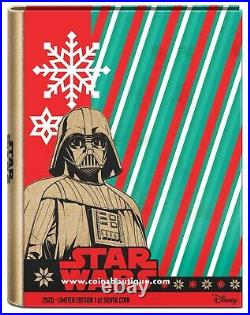 Star Wars Christmas Stormtroopers 1 oz silver coin Niue 2020