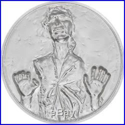 Star Wars Han Solo 2017 Niue High Relief 2oz Silver Coin