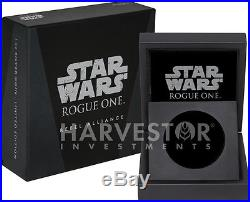 Star Wars Rogue One 2-coin Set Empire Rebel Alliance Ngc Pf70 First Releases