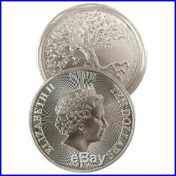 TREE OF LIFE HIGH RELIEF 2019 5 oz $10 NZD Silver Bullion Coin NIUE 1000 Mintage