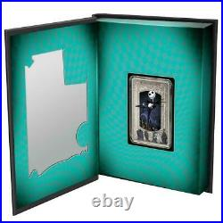 The Nightmare Before Christmas Jack Skellington 2021 Niue $2 Silver Coin Ngc 70