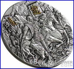 UESUGI KENSHIN Samurai 1 Oz Silver Coin 2020