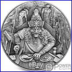 VLAD THE IMPALER Dracula 2 Oz Silver Coin 5$ Niue 2020