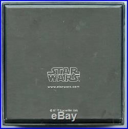 Yoda 2016 Star Wars 999 Silver $2 Coin 1 oz Niue OGP Limited Edition BG483