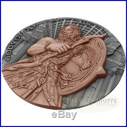 ZEUS GODS OF OLYMPUS 2017 2 oz Ultra High Relief Pure Silver Coin NIUE